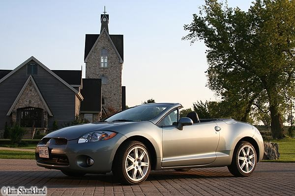 2007 mitsubishi eclipse spyder gt road test road. Black Bedroom Furniture Sets. Home Design Ideas