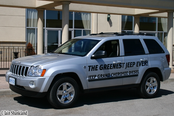 2007 Jeep GrandCherokee Diesel, Iain Shankland, Road-Test.org