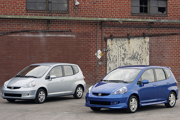 2008 Honda Fit Sport, Iain Shankland, Road-Test.org