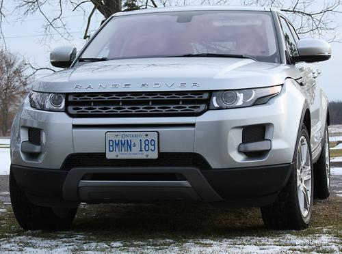 Range Rover Evoque, Road-Test.org, Iain Shankland