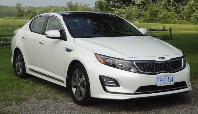 2014 kia optima hybrid ex premium road test road. Black Bedroom Furniture Sets. Home Design Ideas
