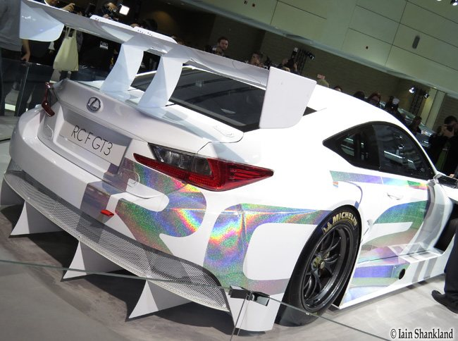 CIAS 2015 Show Highlights – Lexus RC F GT3 Concept + New RC F | Road ...