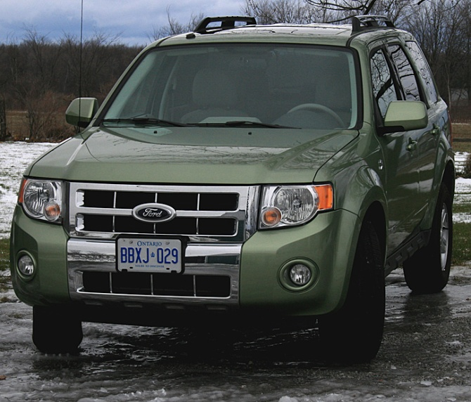 2008 Ford Escape Hybrid – Road Test