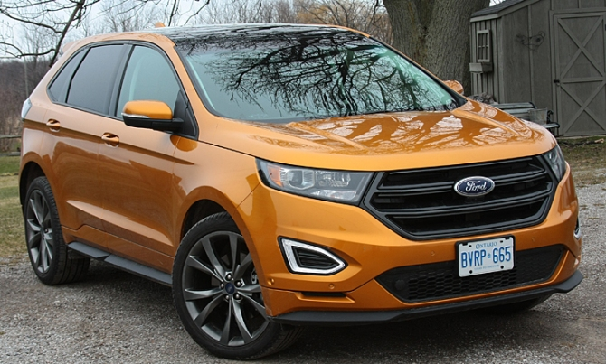 2016 Ford Edge Sport, Iain Shankland, Road-Test.org