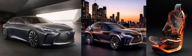 Lexus Debuts A Trio Of Concepts At CIAS, Road-Test.org, Iain Shankland
