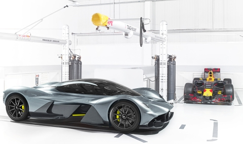 AM-RB 001 Hypercar, Road-Test.org, CIAS2017, Iain Shankland