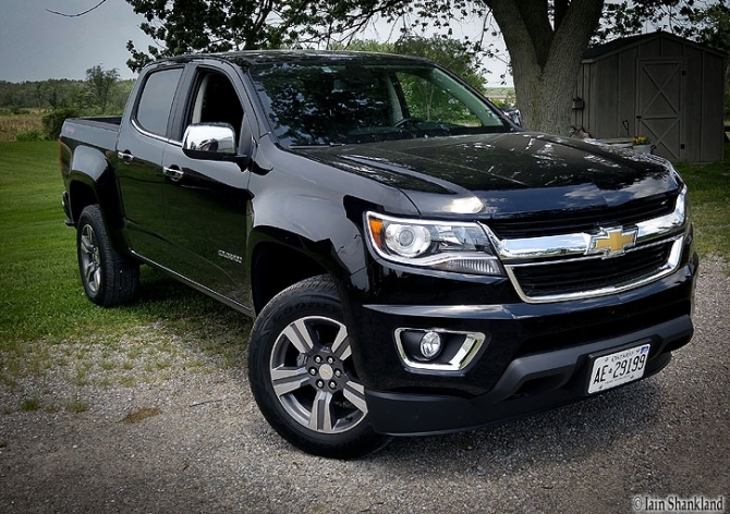 2017 Chevrolet Colorado LT, Iain Shankland, Road-Test.org, Iain Shankland