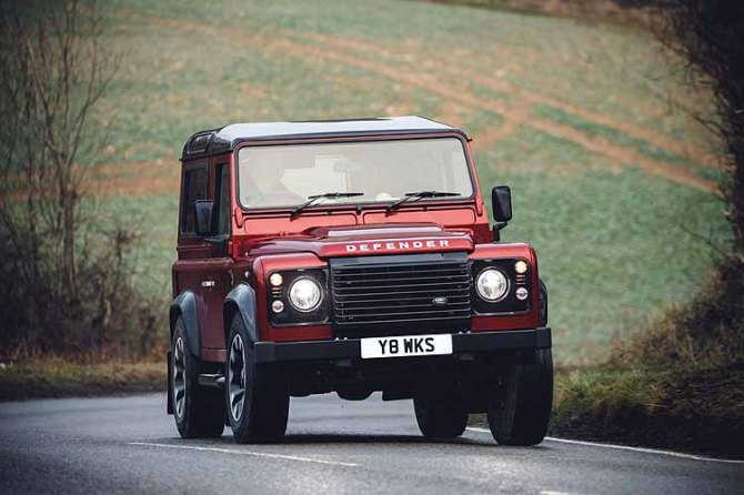 Land Rover Defender Works V8 - 70th Edition, Road-Test.org, Iain Shankland