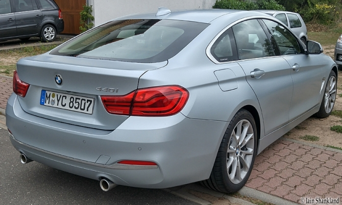 2018 BMW 440i Gran Coupé, Road-Test.org, Iain Shankland, #Germany