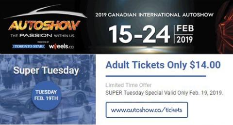 RoadTest.co, Iain Shankland, @cdnintlautoshow, #CIAS2019, #CanadianInternationalAutoShow