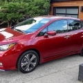 2020 Nissan LEAF Plus side view